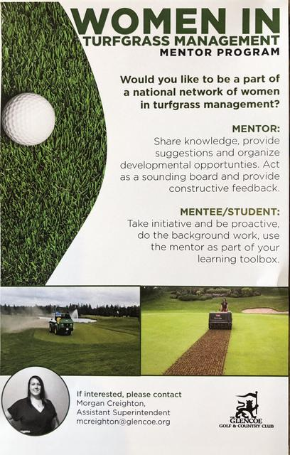 Education/Women in Turfgrass Mentorship Program