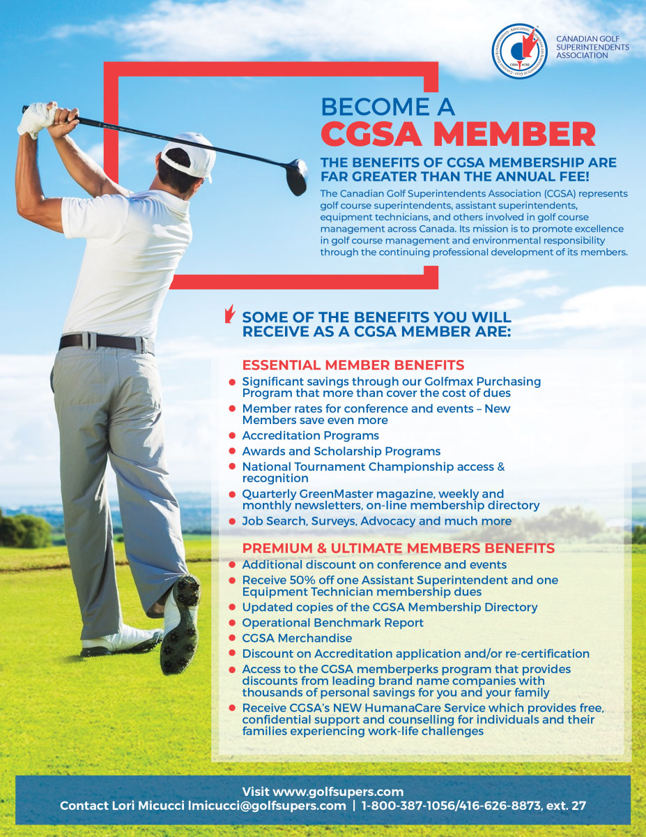Become a CGSA Member